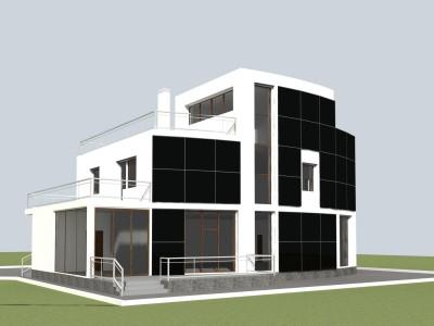Эскизные проекты жилых индивидуальных домов