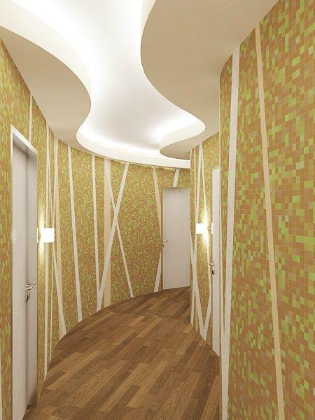 Проект интерьера квартиры (коридоры, лоджия) - интерьеры ква.