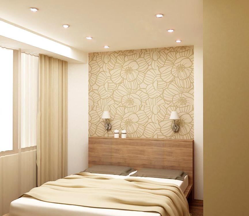 Спальня в пастельных тонах фото