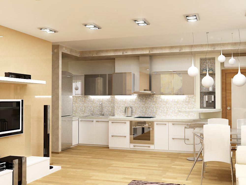 Кухонную зону