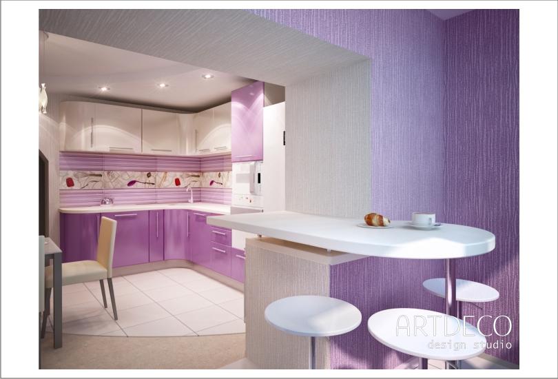 Барная стойка для кухни. идеи для интерьера.