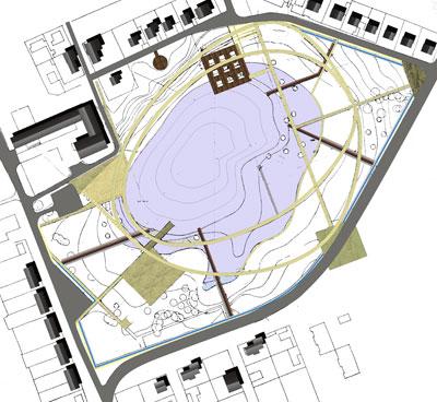 Схема функционального зонирования.