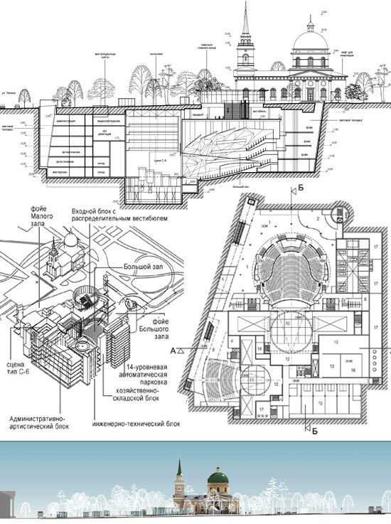 Дизайн концертного зала