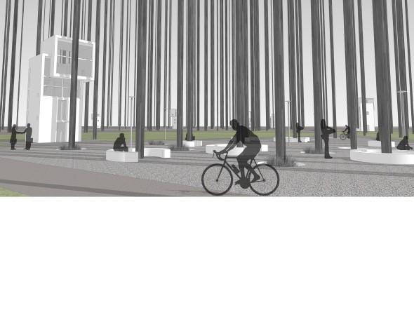 Схема пешеходных и