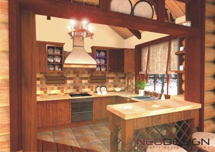Дизайн кухни для однокомнатной квартиры